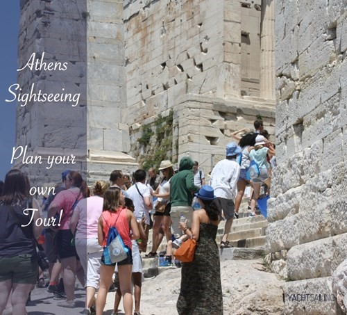 Plan your own tour in athens by foot to visit acropolis parthenon