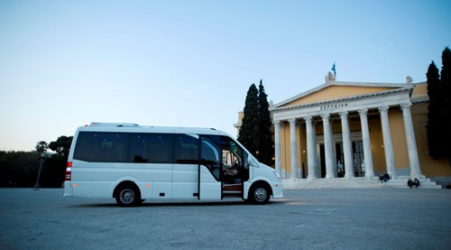 tour with minibus around athens option